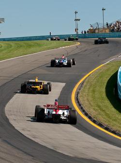 Hideki Mutoh, Newman/Haas Racing, Vitor Meira, A.J. Foyt Enterprises, Simona De Silvestro, HVM Racing
