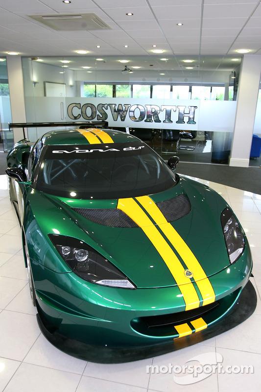 Lotus Evora, bezoek aan de Cosworth-fabriek in Northhampton
