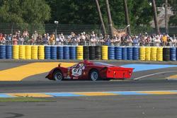 Spin for #61 Alfa Romeo T33/2 1968: David Jacobs