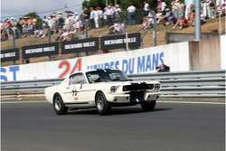 #70 Ford Shelby 350 GT 1965: Tarek Mahmoud, Grégoire Audi