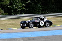 #21 Austin Healey 3000 MK1 1961: Ludovic Caron, Stéphane Guyot-Sionnest, Emmanuel Schreder
