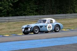 #60 Austin Healey MK2 1962: Jetze Visser, Hans Van De Kerkhof