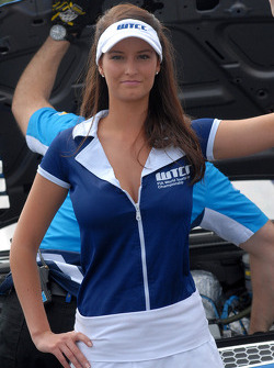 Chevrolet's grid girl