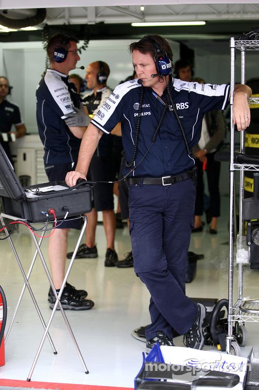 Sam Michael, WilliamsF1 Team, Technical director