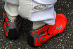 The race boots of Michael Schumacher, Mercedes GP