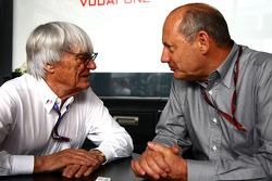 Bernie Ecclestone et Ron Dennis, McLaren