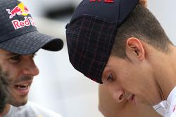 Sebastien Buemi, Scuderia Toro Rosso and Jaime Alguersuari, Scuderia Toro Rosso