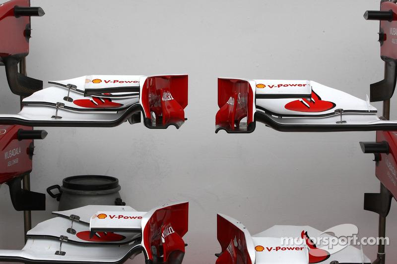 Scuderia Ferrari voorvleugel