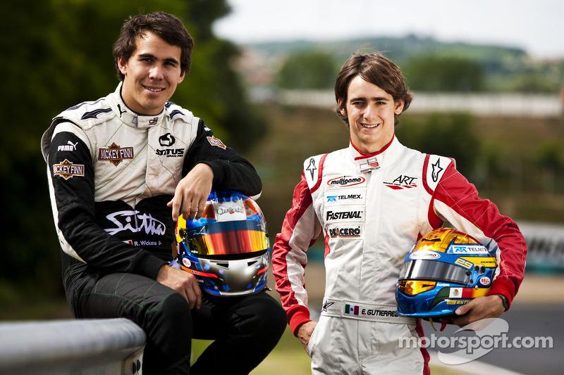 Robert Wickens en Esteban Gutierrez, GP3 Hockenheim