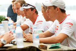 Citroën lunch: Sébastien Loeb