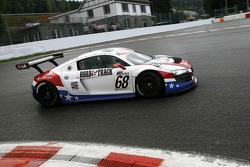 #68 United Autosports Audi R8 LMS GT3: Stefan Johansson, Alain Li, Mark Patterson, Emil Assentato