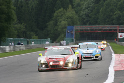 #51 Phoenix Racing Audi R8 LMS GT3: Alexandros Margaritis, Marc Hennerici, Andrea Piccini, Henri Moser
