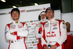 Seiji Ara and Karl Wendlinger