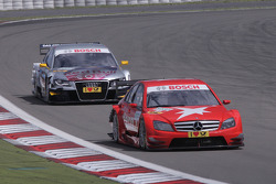 Congfu Cheng, Persson Motorsport, AMG Mercedes C-Klasse and Martin Tomczyk, Audi Sport Team Abt Audi A4 DTM