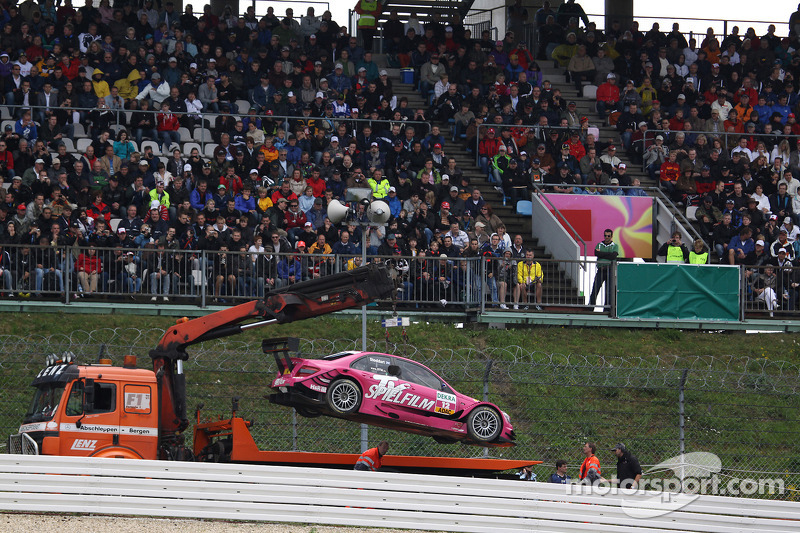 Auto van Susie Stoddart, Persson Motorsport, AMG Mercedes C-Klasse