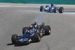Dan Gurney honored, Eagle race cars on parade lap