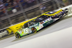 Kyle Busch, Joe Gibbs Racing Toyota and David Reutimann, Michael Waltrip Racing Toyota