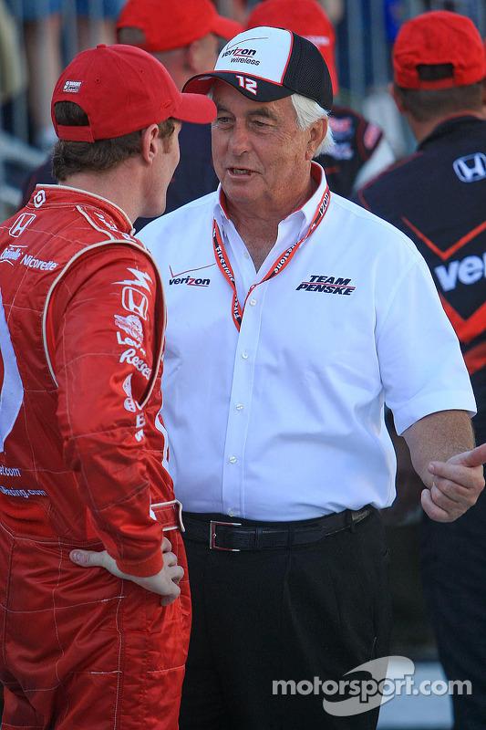 Roger Penske en Scott Dixon, Target Chip Ganassi Racing