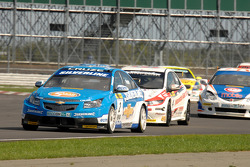 Jason Plato leads Matt Neal and Paul O'Neill