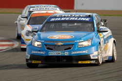 Jason Plato leads John George and Alex MacDowall