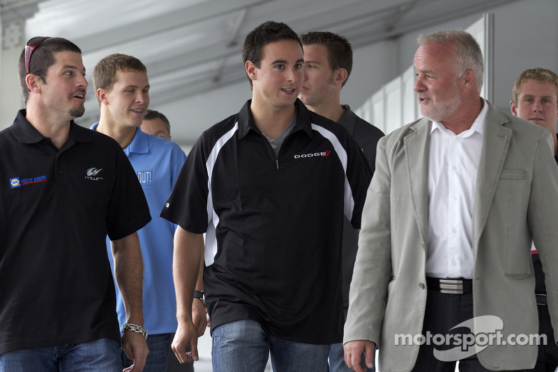 Pre-event press conference: Patrick Carpentier, Trevor Bayne, Andrew Ranger, J.R. Fitzpatrick and Ma