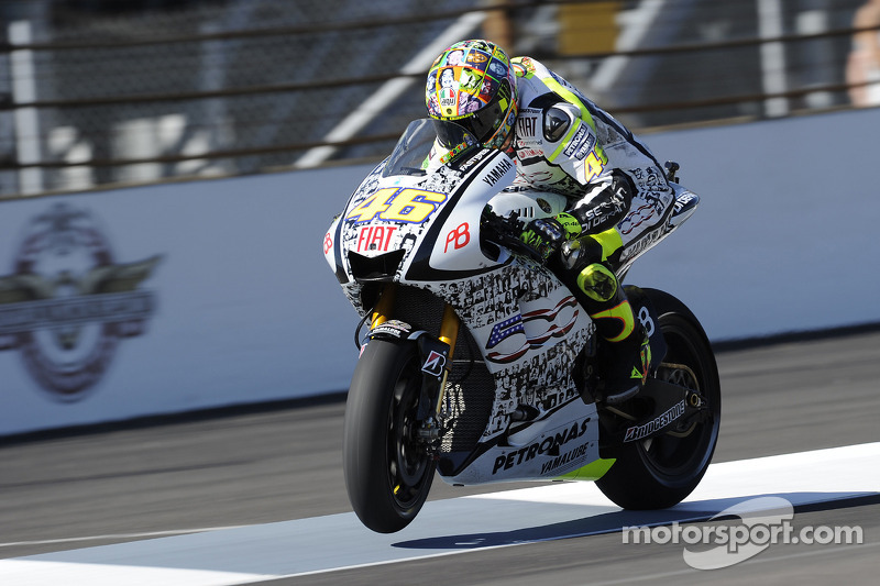 Valentino Rossi (Fiat Yamaha) - GP d'Indianapolis 2010