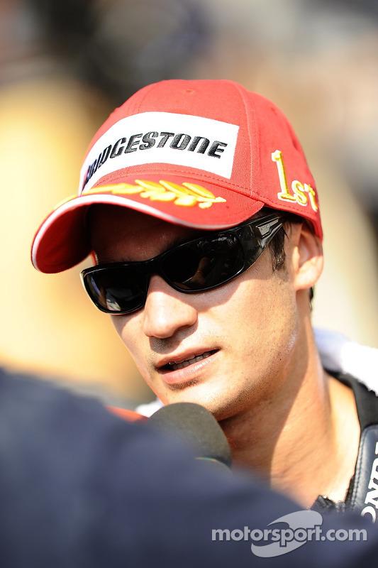 Race winnaar Dani Pedrosa, Repsol Honda Team