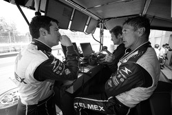 Memo Rojas and Scott Pruett