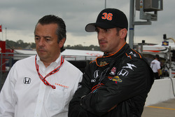 Eric Bachelart and Tomas Scheckter, Conquest Racing