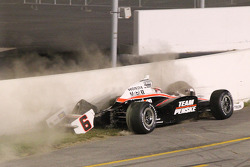 Ryan Briscoe, Team Penske crashes