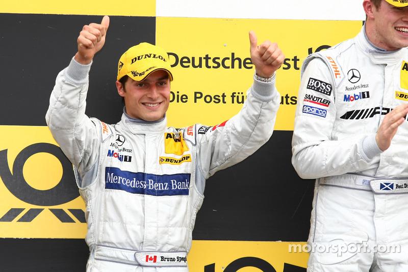 Podium: 2de Bruno Spengler, Team HWA AMG Mercedes