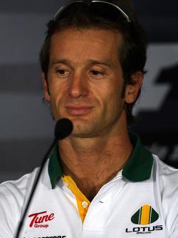 Thursday press conference: Jarno Trulli, Lotus F1 Team