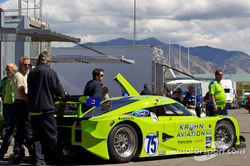 #75 Krohn Racing Ford Lola