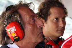 Luca di Montezemolo, Scuderia Ferrari, FIAT Chairman and President of Ferrari and John Elkann, President Of Fiat and nephew of Gianni Agnelli