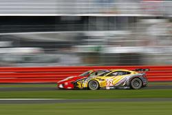 #92 JMW Motorsport Aston Martin V8 Vantage: Robert Bell, Darren Turner