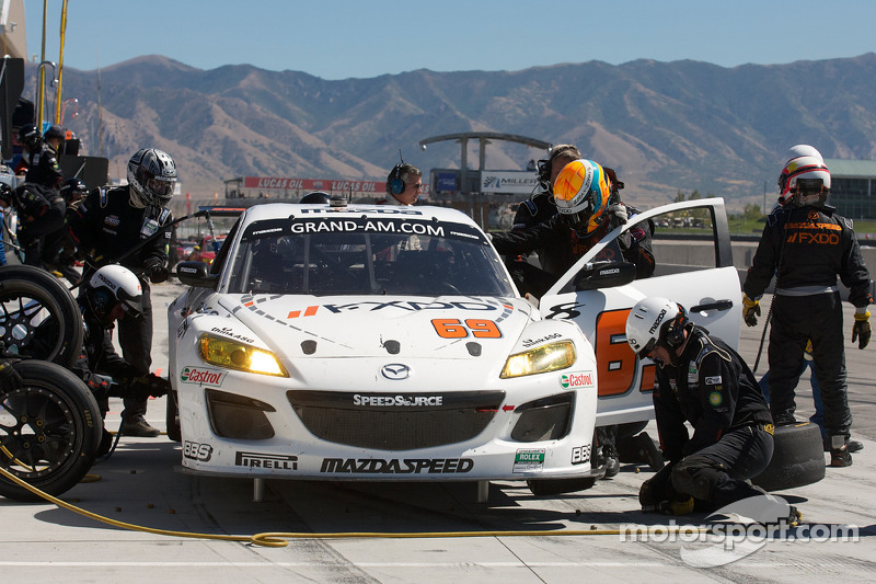 Pitstop #69 SpeedSource Mazda RX-8: Emil Assentato, Jeff Segal