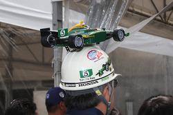 A fan of Takuma Sato, KV Racing Technology