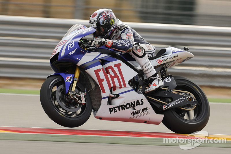 El GP de Aragón 2010 se disputó justo después del de San Marino en el que Tomizawa falleció