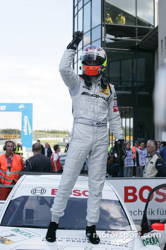 Race winnaar Paul di Resta, Team HWA AMG Mercedes