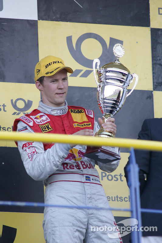 Podium: 3de Mattias Ekström, Audi Sport Team Abt