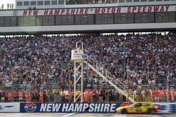 Clint Bowyer, Richard Childress Racing Chevrolet takes the checkered flag