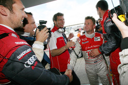Pole winner Allan McNish