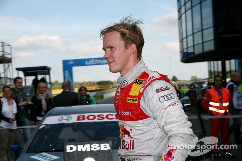 Derde plaats Mattias Ekström, Audi Sport Team Abt