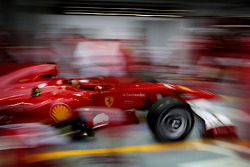 Ferrari pitstop practice