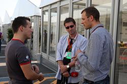 Christian Klien, test driver, Hispania Racing F1 Team, Alexander Wurz