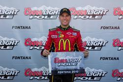 Pole winner Jamie McMurray, Earnhardt Ganassi Racing Chevrolet