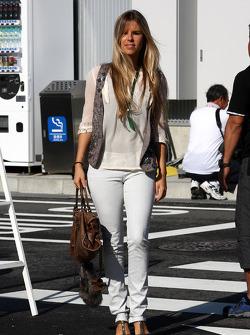 Vivian Sibold the girlfriend of Nico Rosberg