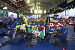 BP Ford Abu Dhabi World Rally Team servicegebied