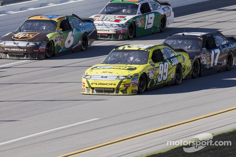 Carl Edwards, Roush Fenway Racing Ford en Matt Kenseth, Roush Fenway Racing Ford