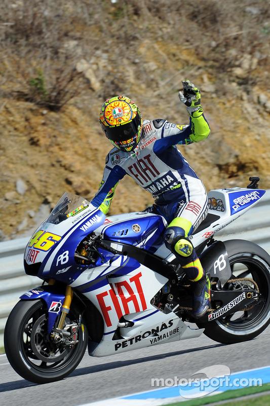 2de plaats Valentino Rossi, Fiat Yamaha Team